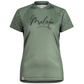 Maloja ArgoviaM. Multi 1/2 Shortsleeve Multisport Jersey Women, cypress